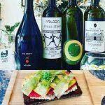 wine tasting flights launch - free bruschetta offer