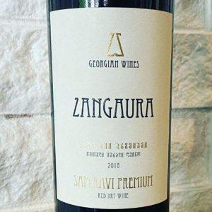 Saperavi Premium 2016 Zangaura