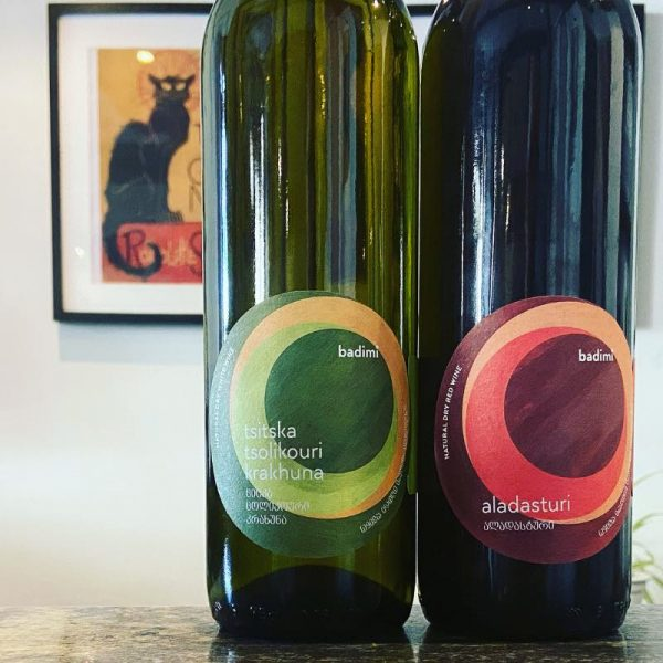 Pair of Badimi Wines