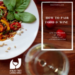 food and wine pairing masterclass