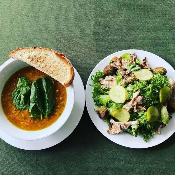 soup and salad combo