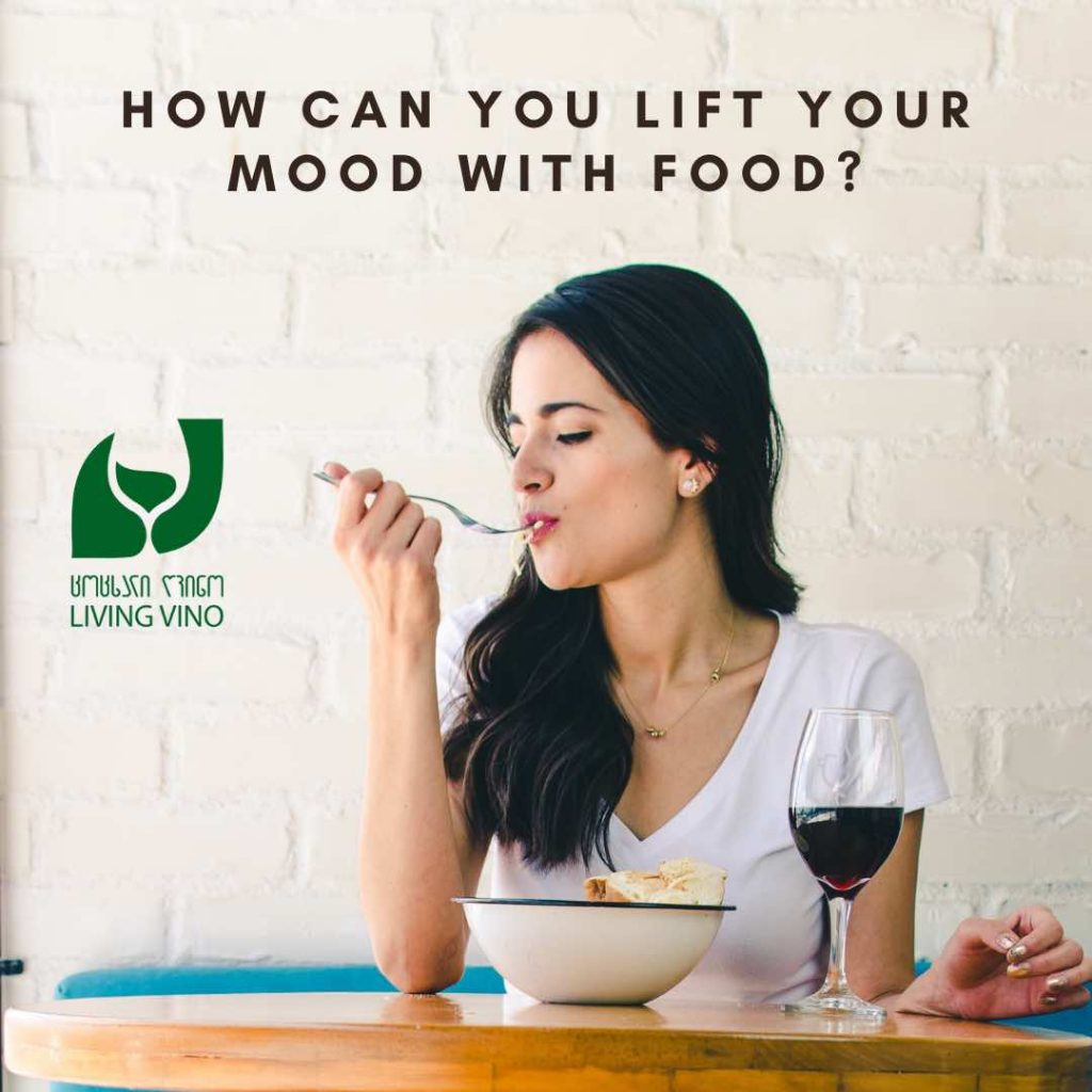 How can you lift your mood with food